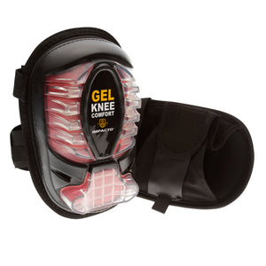 865-00 Extended Cap All-Terrain Gel Kneepads have a donut-shaped GEL filled pad that provides cushioning, shock and reduces direct pressure to the patella bone while you work. The extended heel of the kneepad supports the shin and helps distribute body weight and reduce stress on the ankles reduce back discomfort.
