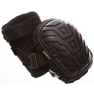 868-00 GELITE Hard Shell Kneepads are built using a solid injection GEL insert which is molded directly into an ergonomically shaped pad to provide comfortable knee cushioning. The enlarged hard outer shell offers extra protection for your knees with added anti-slip texture on the rounded cap.