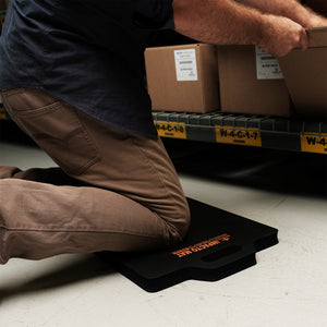 IMPACTOMAT Anti-fatigue Kneeling Mats are specially designed to protect your knees from abrasions and reduce knee trauma and lower back stress while you work. IMPACTOMAT's are made with resilient closed-cell foam which does not compress or absorb liquids.