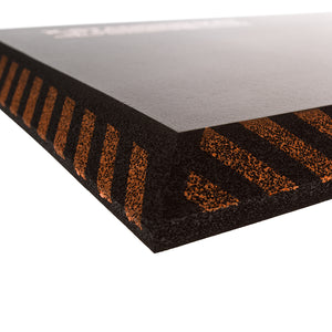IMPACTOMAT Anti-fatigue Standing Mats are specially designed to reduce impact and fatigue on your feet, legs and lower back stress while you work. IMPACTOMAT's are made with resilient closed-cell foam which does not compress or absorb liquids or petroleum products.