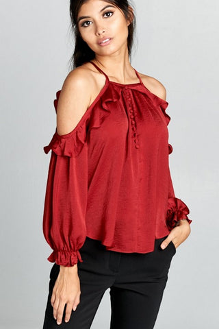 Chocolate Blusa  Modelo MT3057