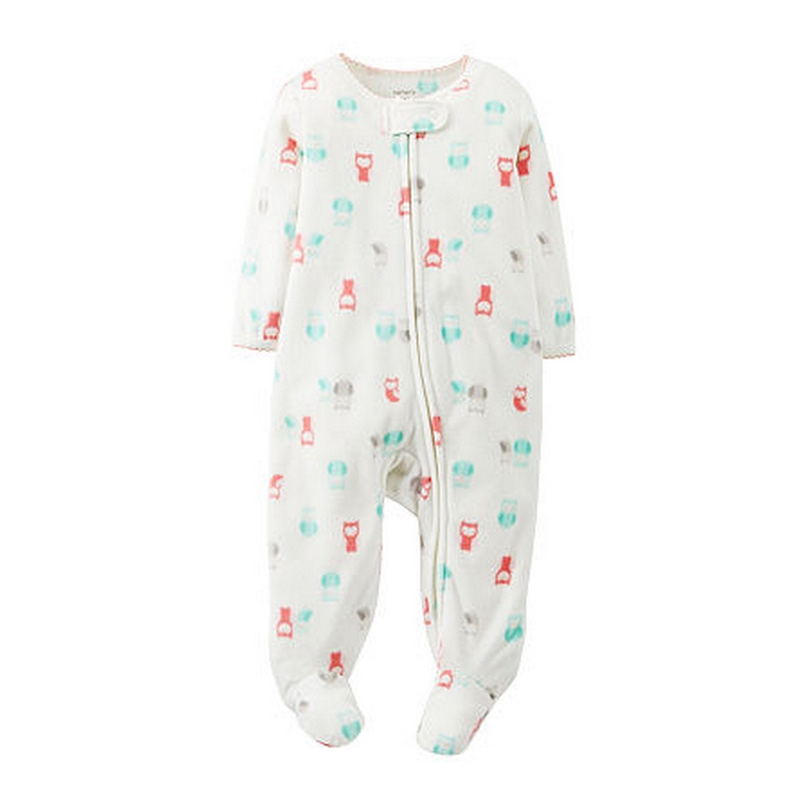 Carters Footed Owl Sleep and Play - Girls  Modelo 115A205