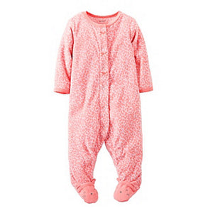 Carter's Baby  Pink Leopard Print   Modelo 115A210