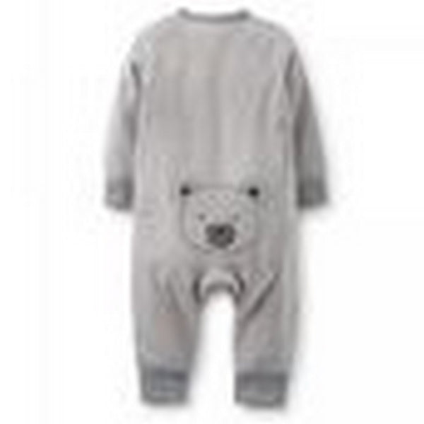 Carter's Grey Bear Romper   Modelo 118-895