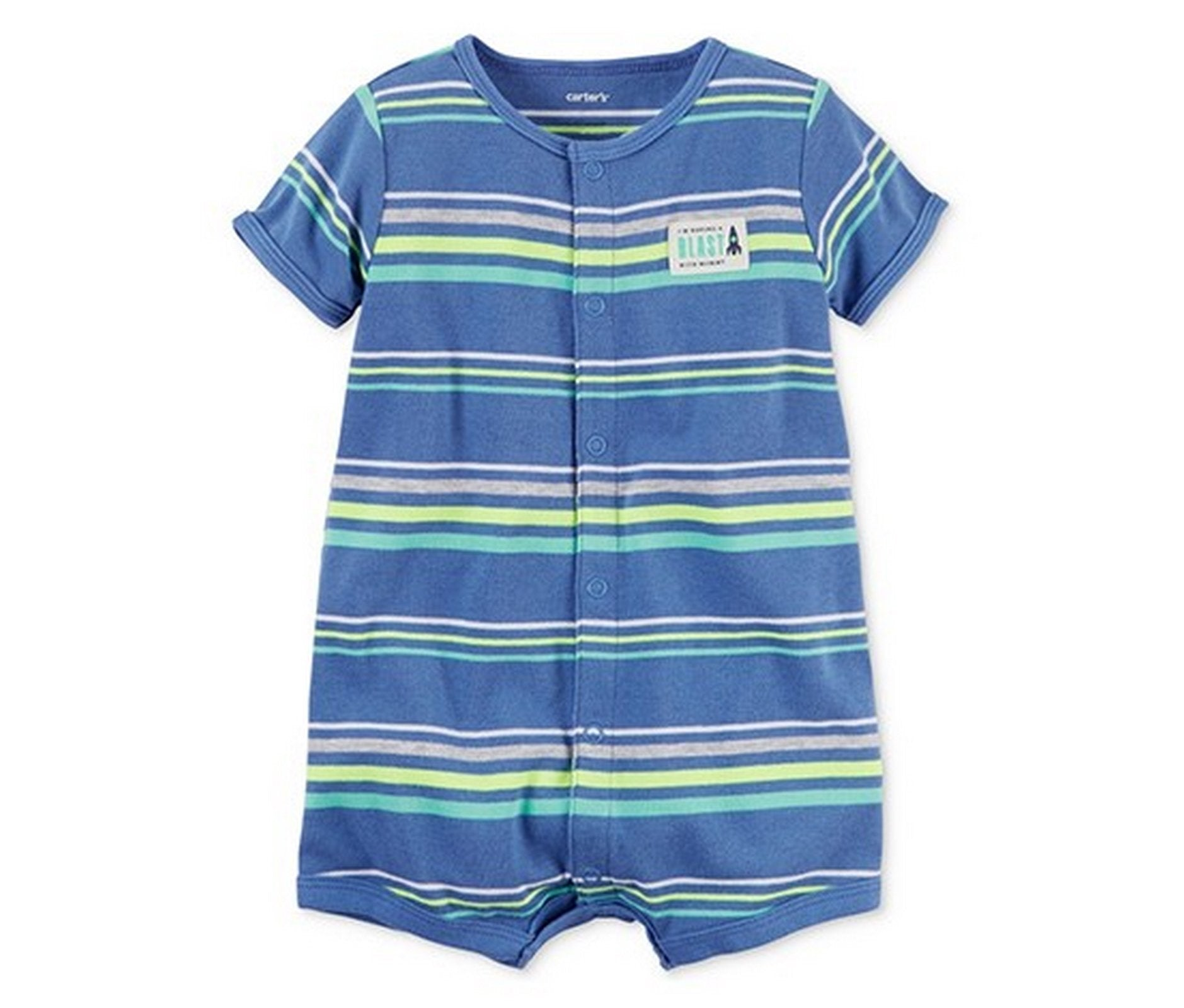 Carter's Snap-Up Romper  Modelo 118H081