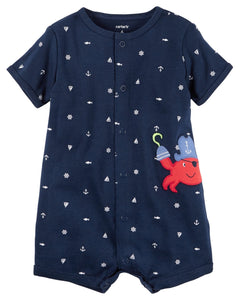 Carter's Snap-Up Cotton Romper  Modelo 118H082