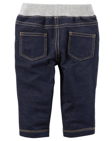 Carter's French Terry Faux Denim Pants  Modelo 118H462