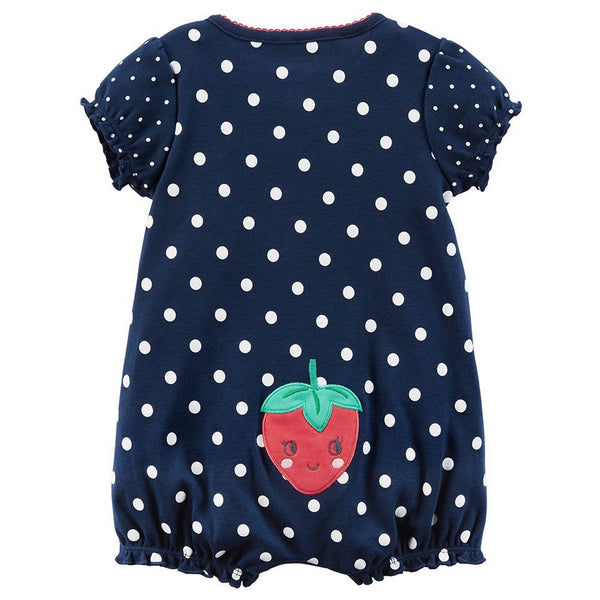 Carter's Strawberry Romper - Baby Girl  Modelo 118H870