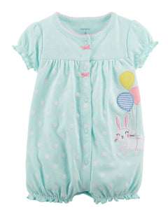 Carter's Bunny Snap-Up Cotton Romper  Modelo 118H872