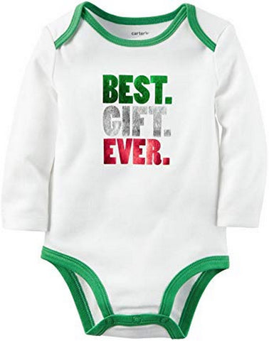 Carter's Baby Single Bodysuit Best Gift Ever  Modelo 118G669