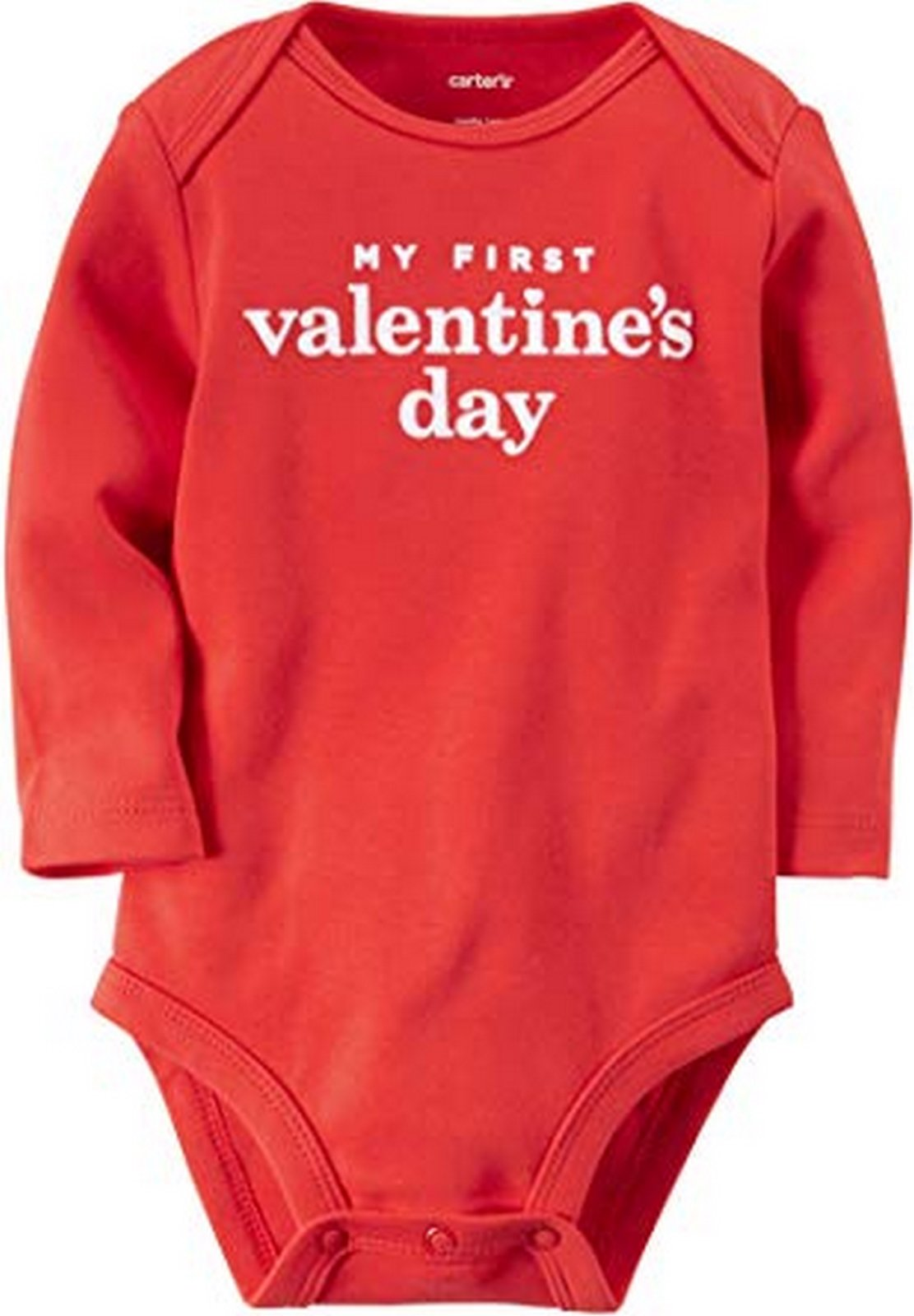 Carter's My First Valentine's Day Bodysuit  Modelo 119G054