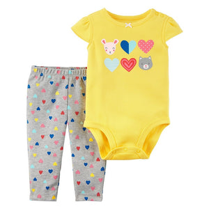 Carter's 2PC Bodysuit Pant Set  Modelo 121I081