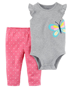 Carter's 2-Piece Bodysuit Pant Set  Modelo 121I354