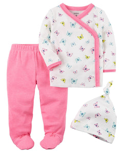 Carter's 3-Piece Neon Footed Pant Set  Modelo 126G795