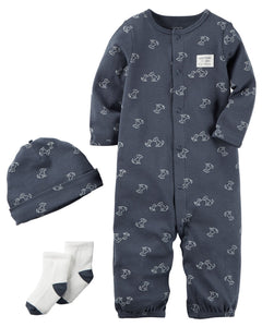 Carter's 3-Piece Babysoft Take-Me-Home Set  Modelo 126G864