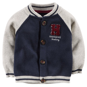 Carter's Navy Varsity Jacket Set  Modelo 127G003
