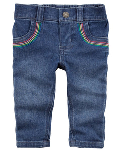 Carter's Rainbow Jeggings  Modelo 127G871