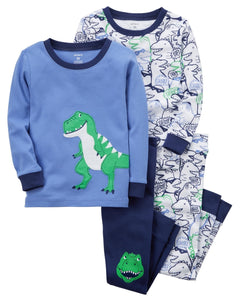 Carter's 4-Piece Dinosaur Snug Fit Cotton PJs  Modelo 13237213