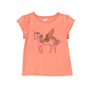 Crazy8 Toddler Unicorn Tee  Modelo 140165860