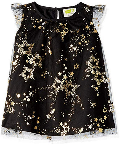 Crazy8 Toddler Sparkle Star Dress  Modelo 140174001