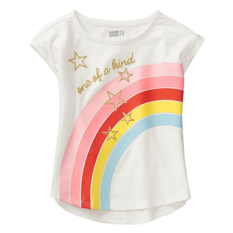 Crazy8 Toddler One Of A Kind Rainbow Tee   Modelo 140180272
