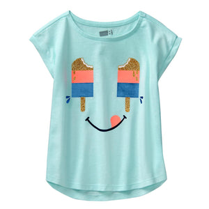Crazy8 Toddler Sparkle Popsicle Tee  Modelo 140180850