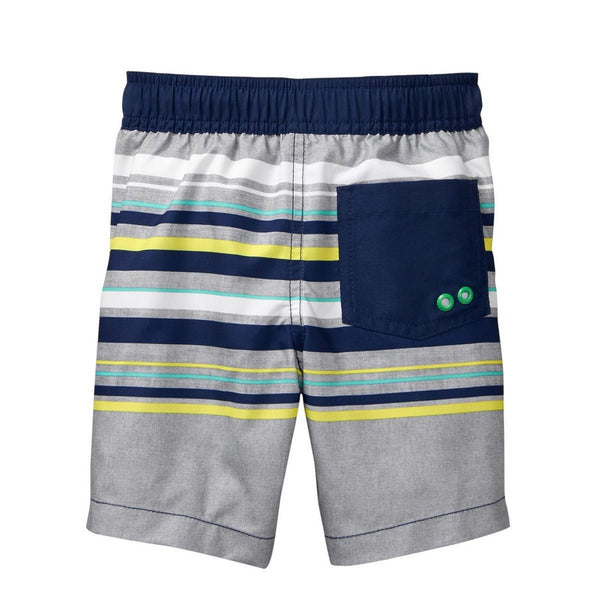 Crazy 8 Toddler Stripe Swim Trunks   Modelo 140181169