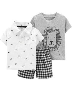Carter's 3-Piece Lion Little Short Set  Modelo 16540410