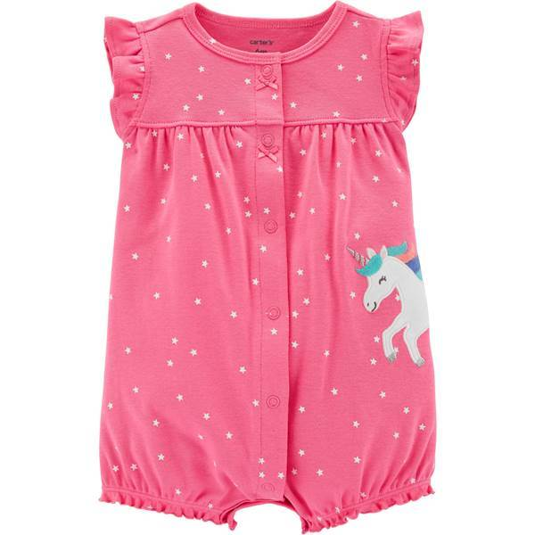 Carter's Polka Dot Unicorn Snap-Up Romper  Modelo 16556915