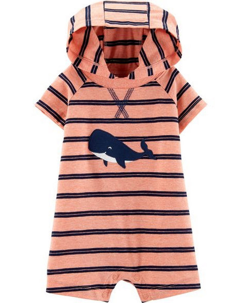 Carter's Whale Hooded Romper  Modelo 16648510