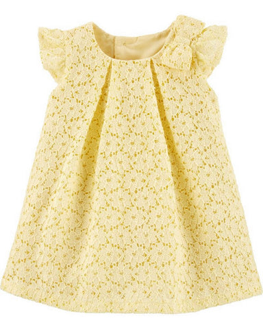 Carter's Baby Girls Floral Lace Holiday Dress 1H313610