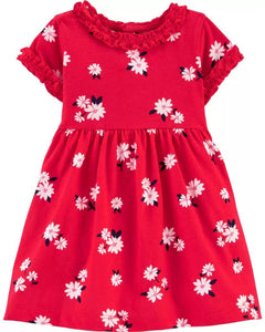 Carter's Baby Girls Floral Jersey Dress 1H554510