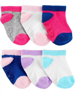 Carter's 6 Pack Ankle Socks 1H567710
