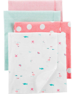 Carter's 4-Pack Receiving Blankets 1H864210