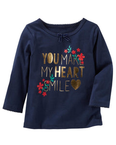 OshKosh Heart Smile Tee  Modelo 22692610