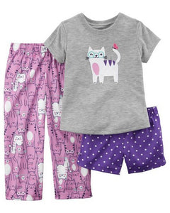 Carter's 3-Piece Poly PJs  Modelo 23615210