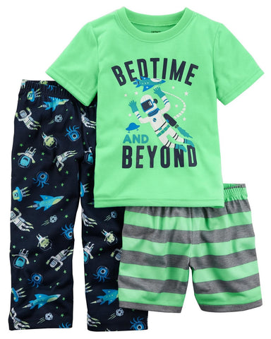 Carter's 3-Piece Glow-In-The-Dark Poly PJs  Modelo 23639211