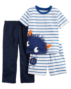 Carter's 3-Piece Poly PJs  Modelo 23639212