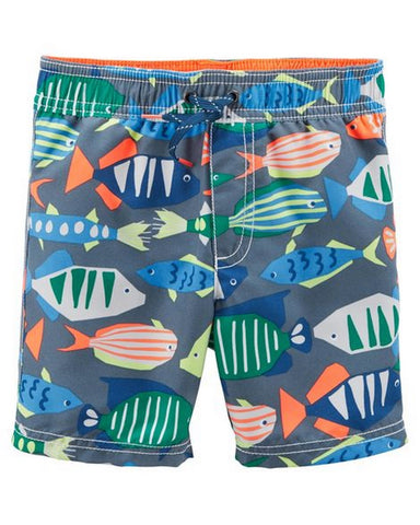 Carter's Fish Swim Trunks  Modelo 240G028