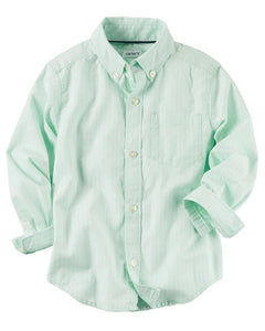 Carter's Pinstripe Button-Front Shirt  Modelo 243G880