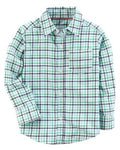 Carter's Plaid Twill Button-Front Shirt  Modelo 243H480