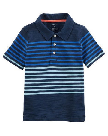 Carter's Striped Slub Jersey Polo  Modelo 243H510