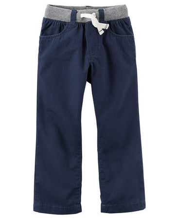 Carter's Pull-On Canvas Pants  Modelo 248G602