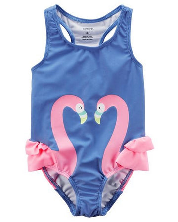 Carter's Flamingo Swimsuit  Modelo 250G034