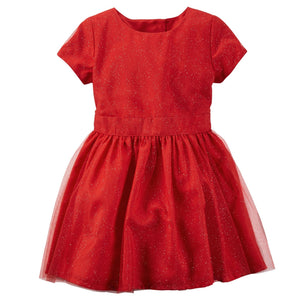 Carter's Glitter Tulle Dress  Modelo 251G028