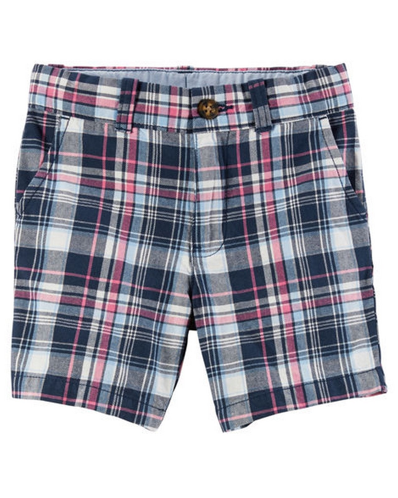 Carter's  Plaid Flat-Front Twill Shorts  Modelo 268G361