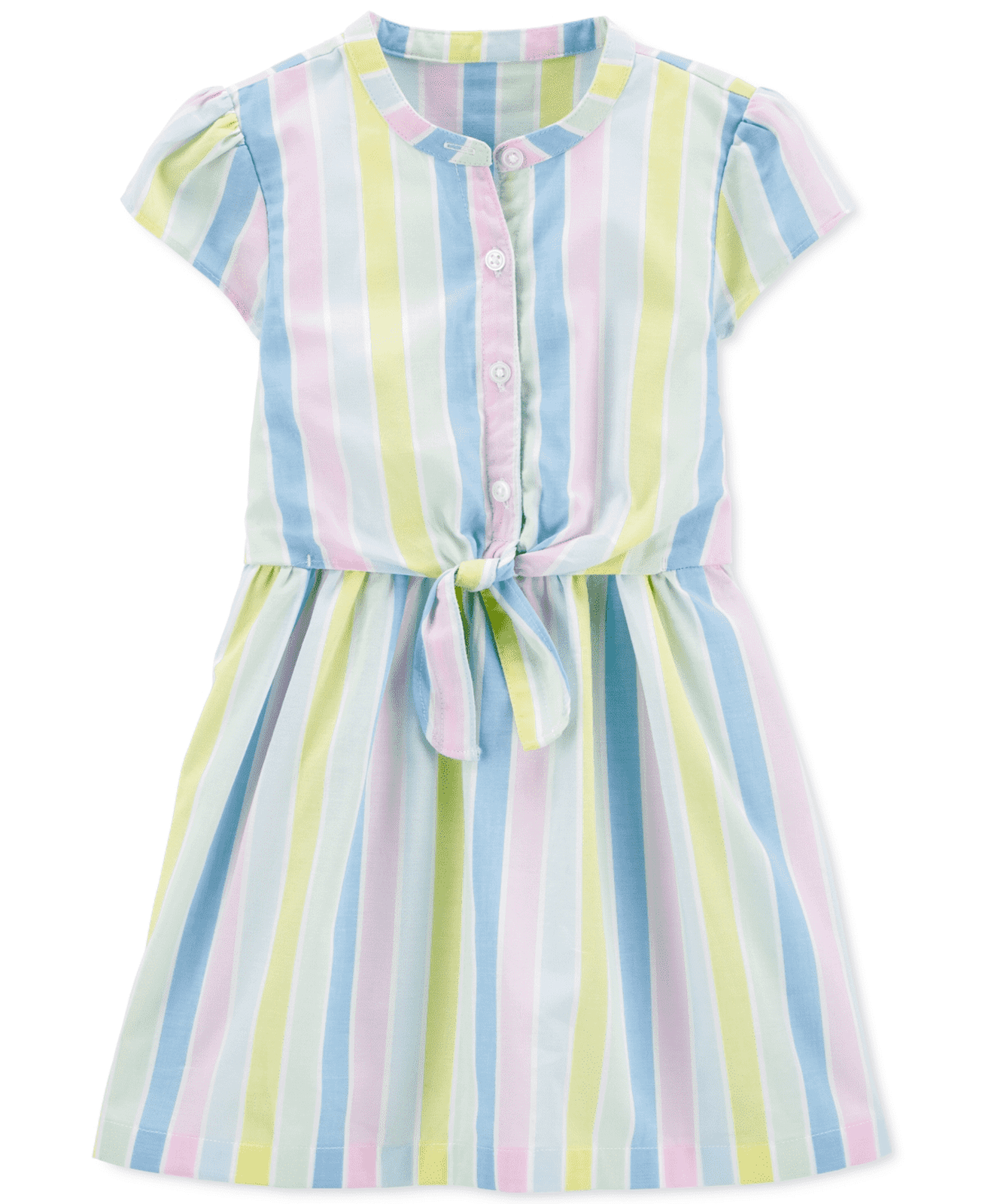 Carter's Striped Bow Dress 2H410110
