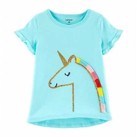 Carter's Toddler Girl's Carter's Unicorn S/S Tee 2H421710