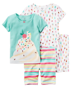 Carter's 4-Piece Snug Fit Cotton PJs  Modelo 351G268