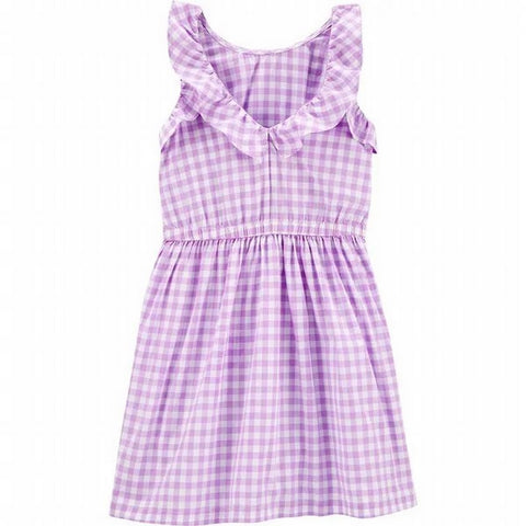 thing Dresses Carter's Girls Carter's Gingham Poplin Dress 3H468710